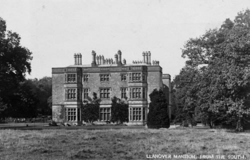 Llanover House, Designed by Thomas Hopper. Built 1837, demolished 1936