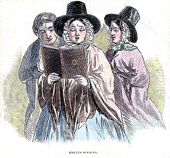 Llanover Choir c. 1850